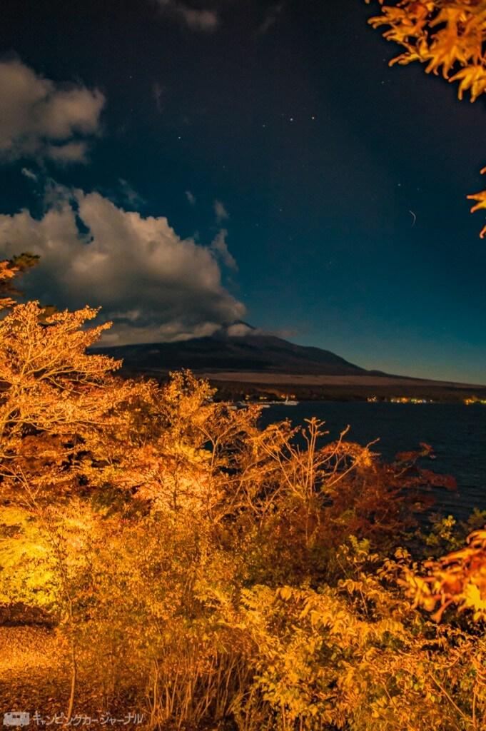 この日は富士山のてっぺんにもくもく雲が掛かっていました。でもこれはこれで可愛いです😍