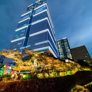 東京 赤坂の夜景