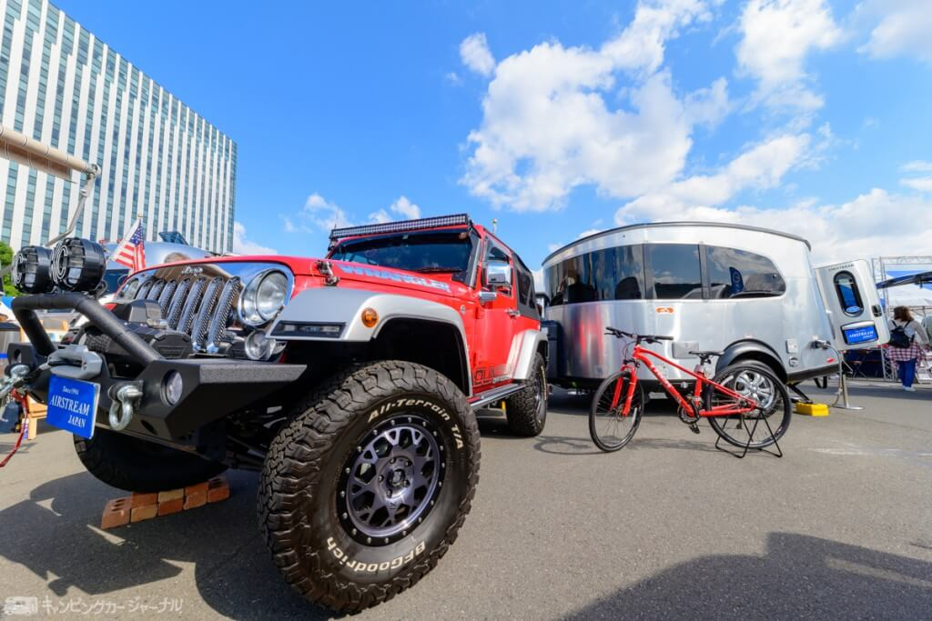 JeepとAirStream