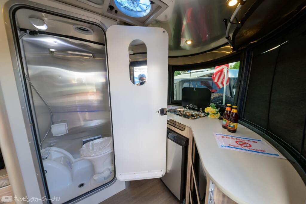 BaseCampのキッチン