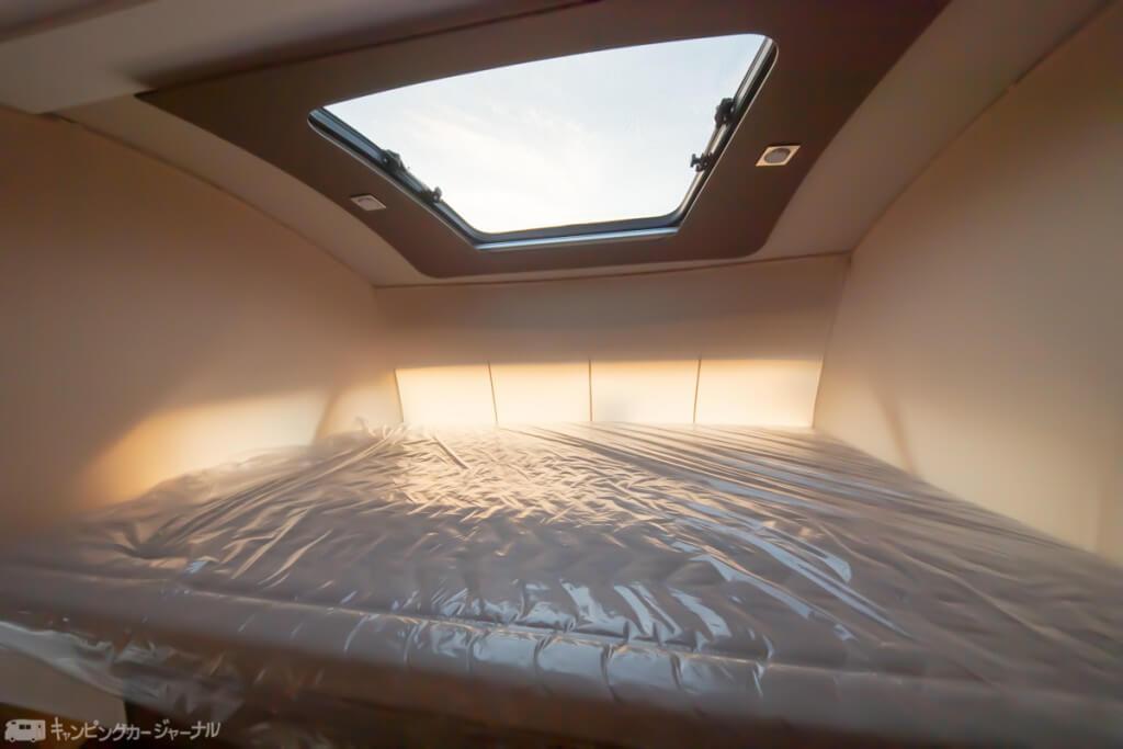 個室空間のようなベットルーム