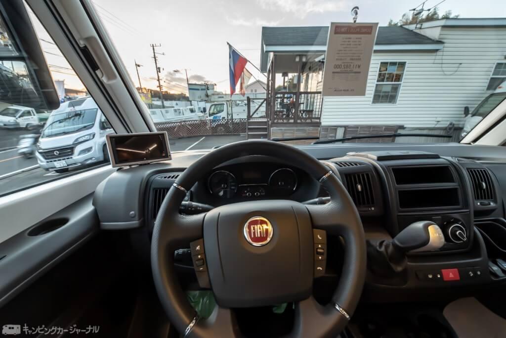 SONIC Plusの運転席からのビュー