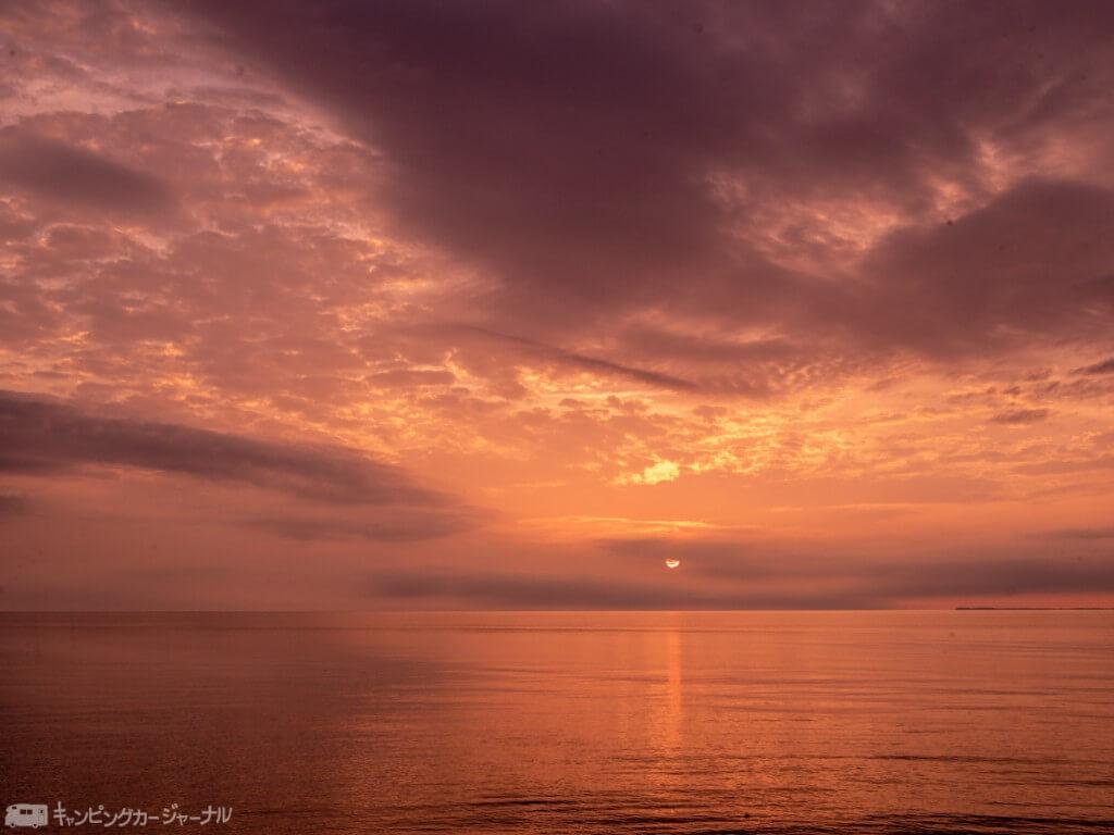 日本海の夕陽を見に弾丸ツアー