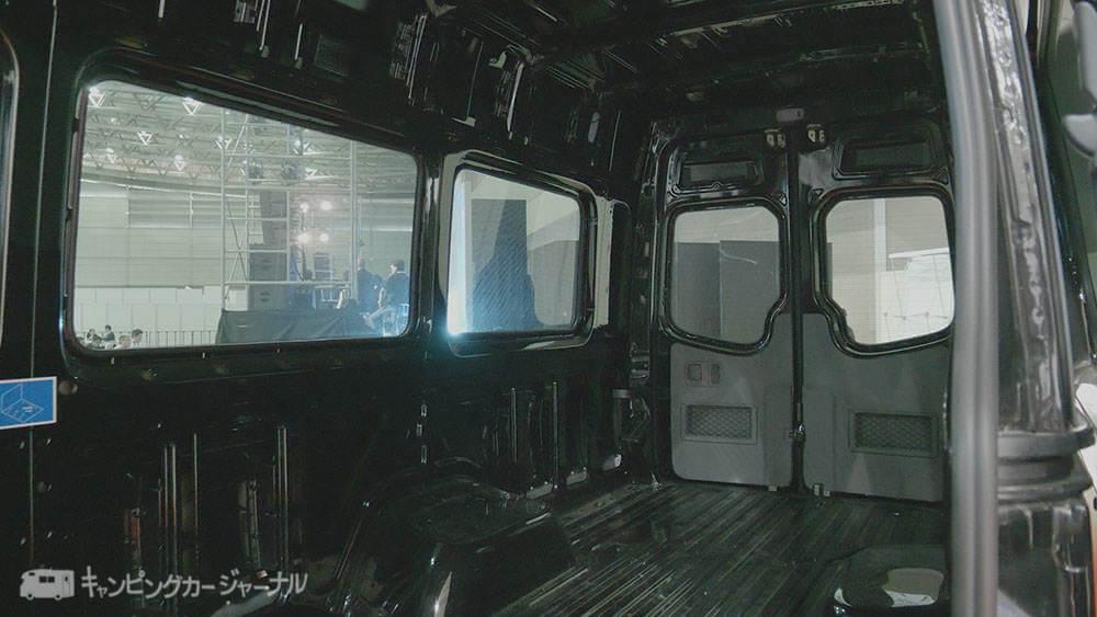 メルセデス・ベンツキャンピングカー
