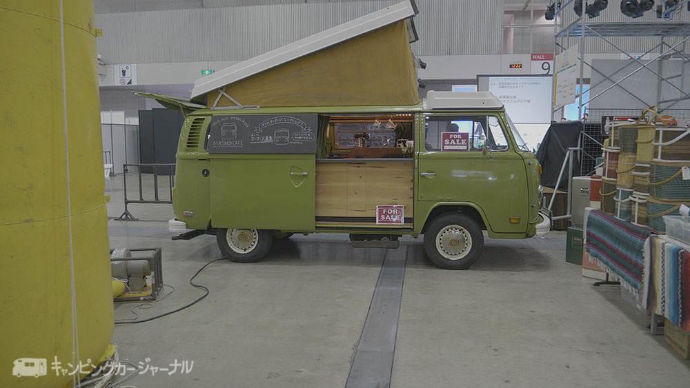 移動販売車カフェ