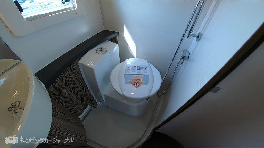 バンテックZiLトイレ
