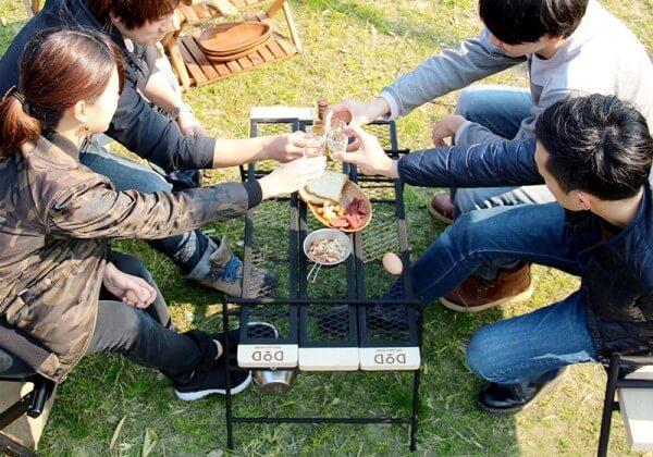 キャンプテーブルイメージ