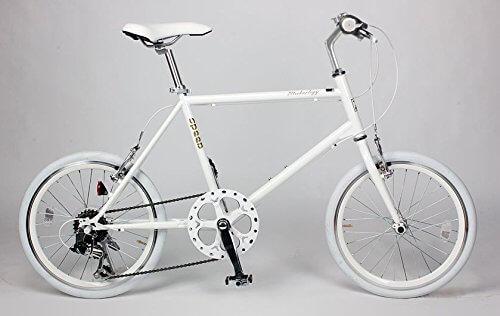 21Technology(CL206)ミニベロ 20インチシマノ製6段変速ギヤ付きクロスバイク