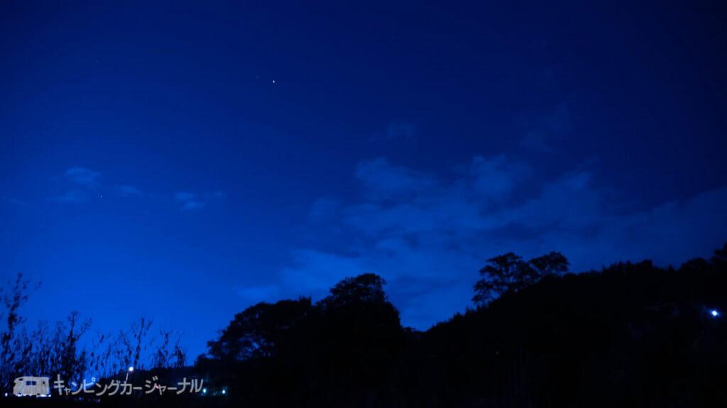 田代運動公園夜景