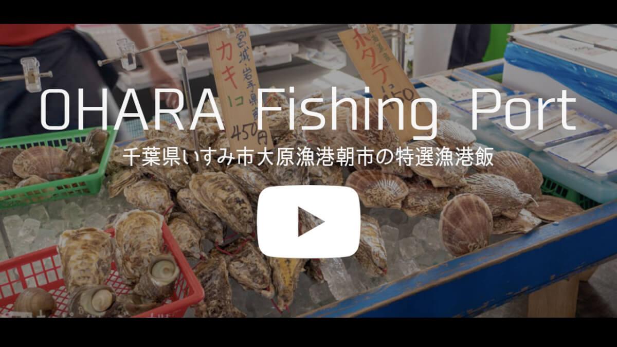大原漁港youtube