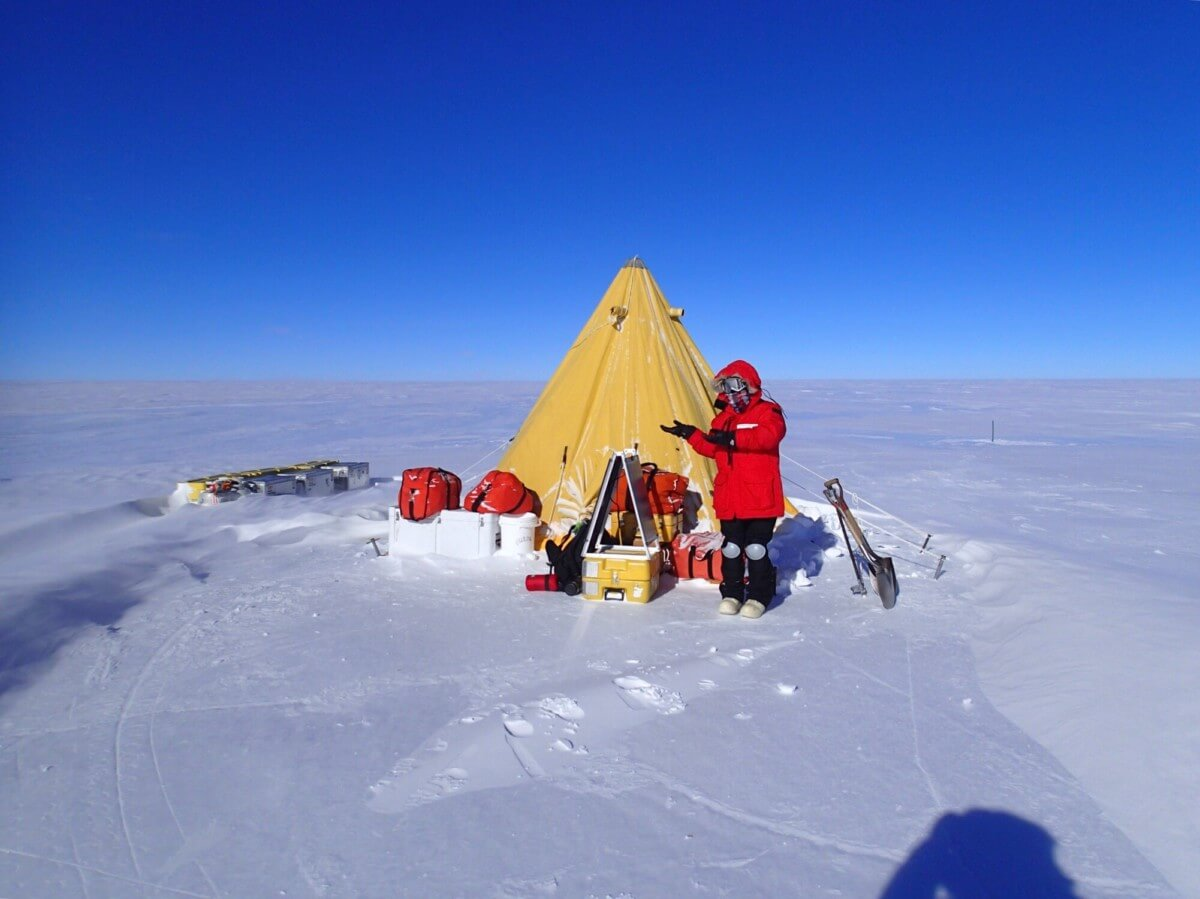 南極 荒井朋子先生