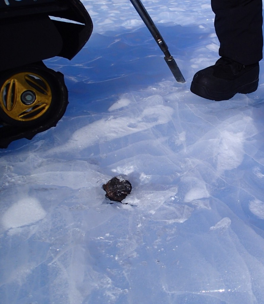 南極の隕石