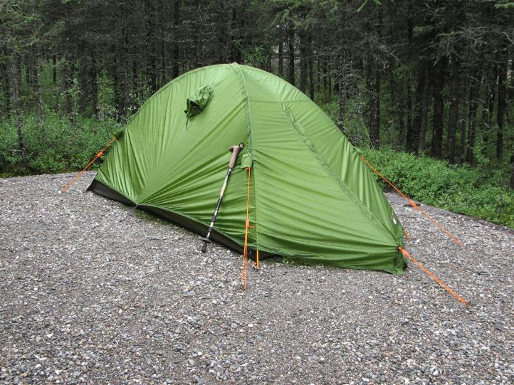 カナダでのテント