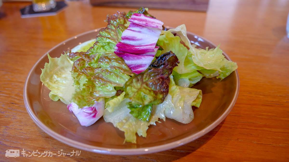 スプリングバレーブルワリー横浜のランチサラダ
