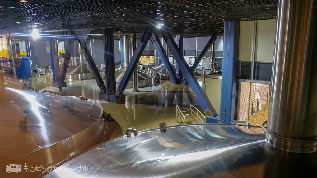 キリンビール横浜工場の製造