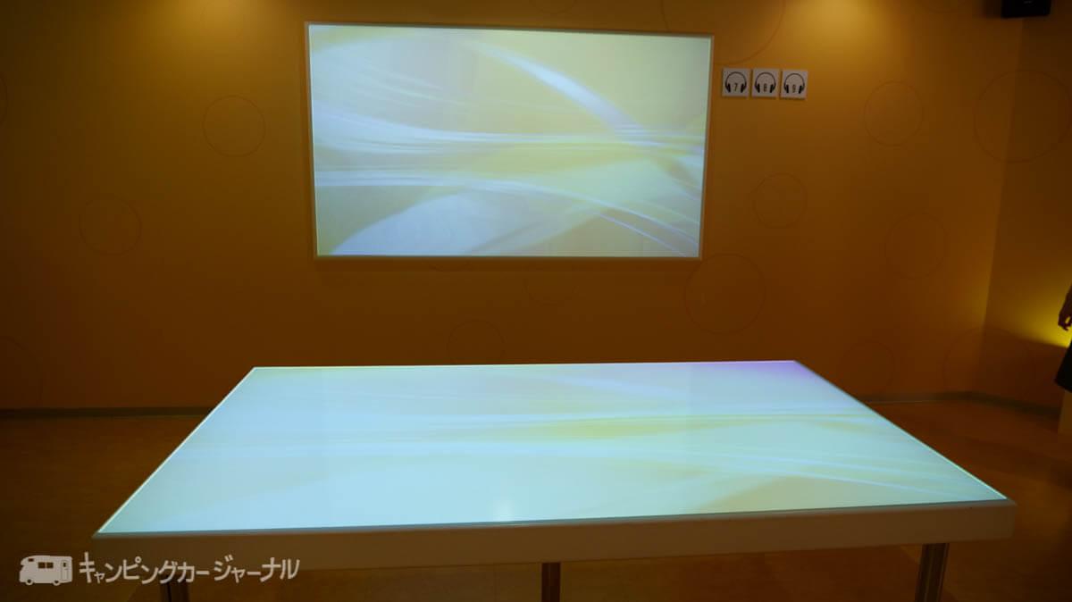 キリンビール横浜工場の映像装置