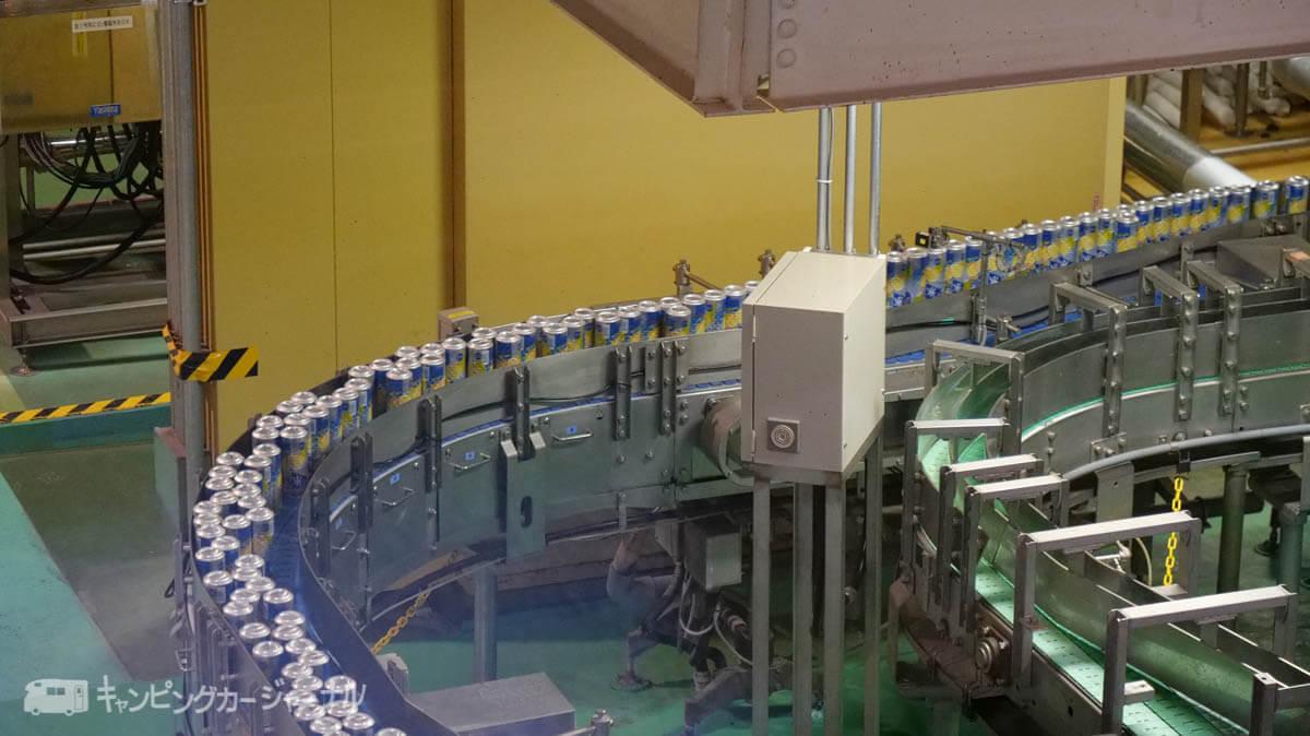 キリンビール横浜工場の製造ラインはいい感じ