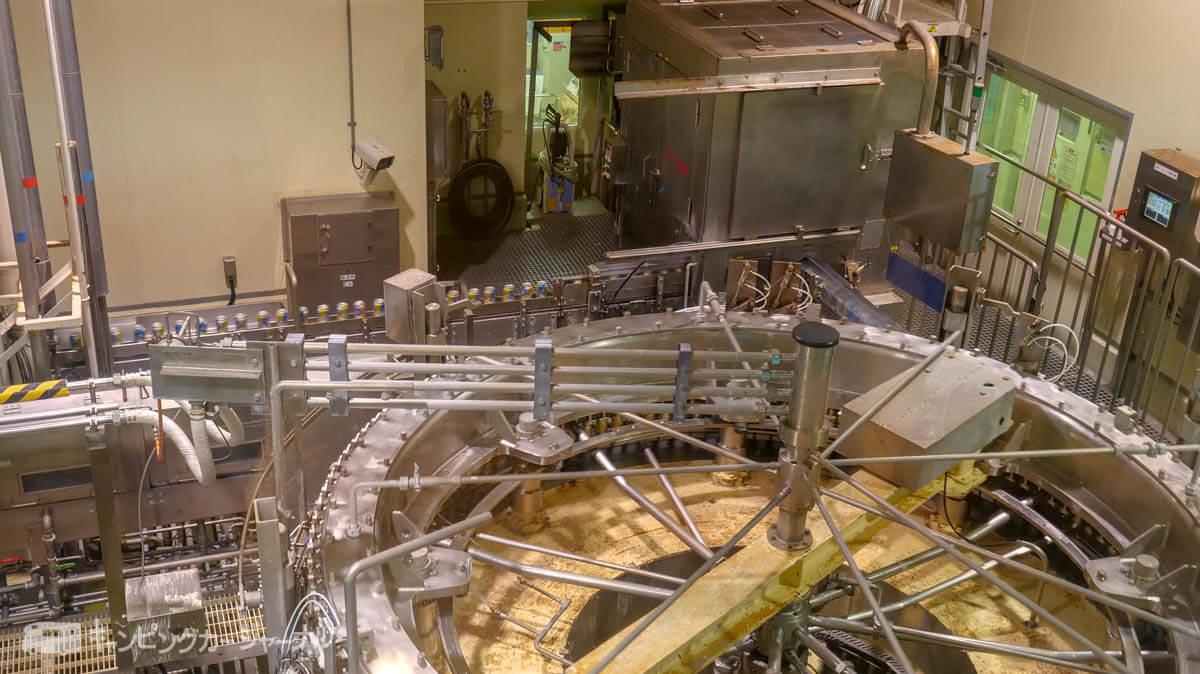 キリンビール横浜工場の製造ラインを見学