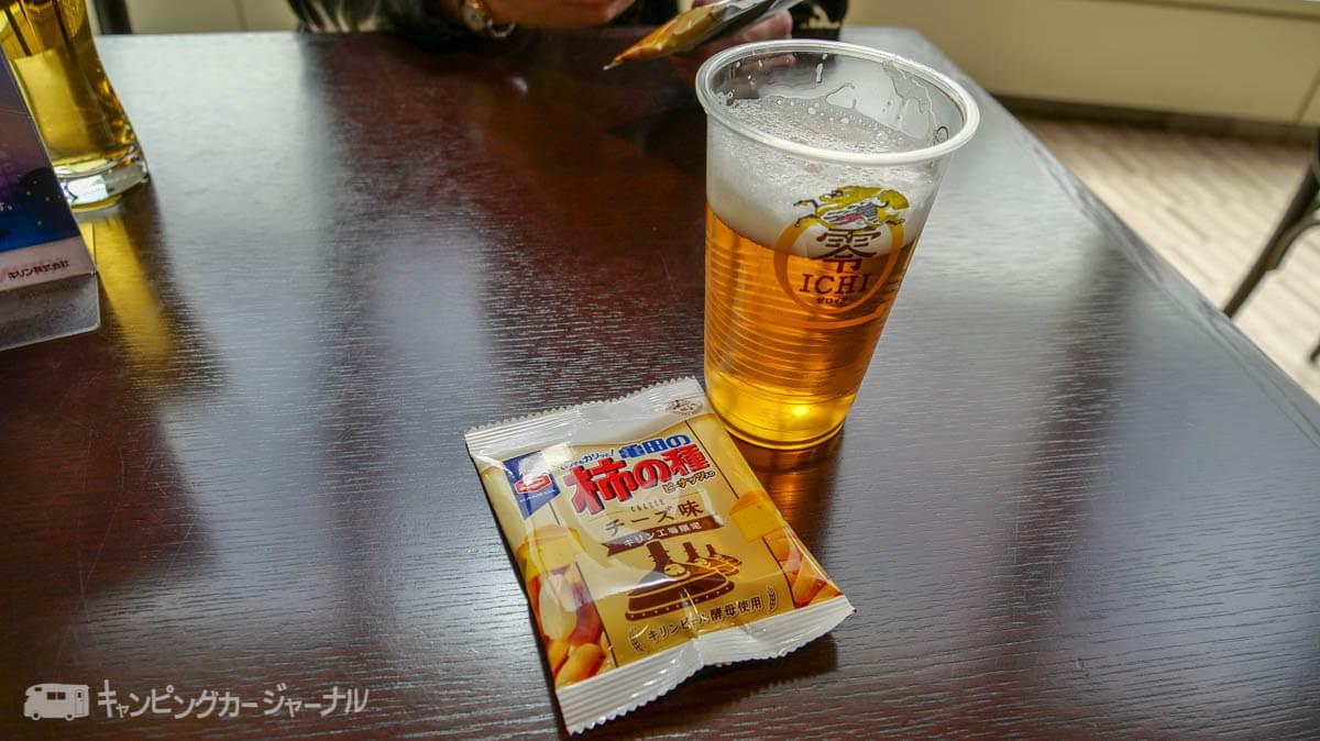 試飲はノンアルコールビール