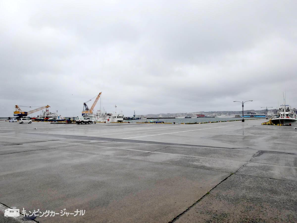 八戸の漁港