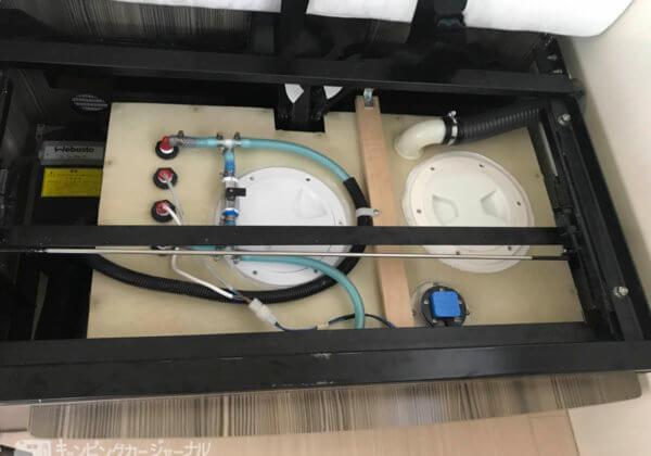 バンテックZiLの生活水の蓋を増設