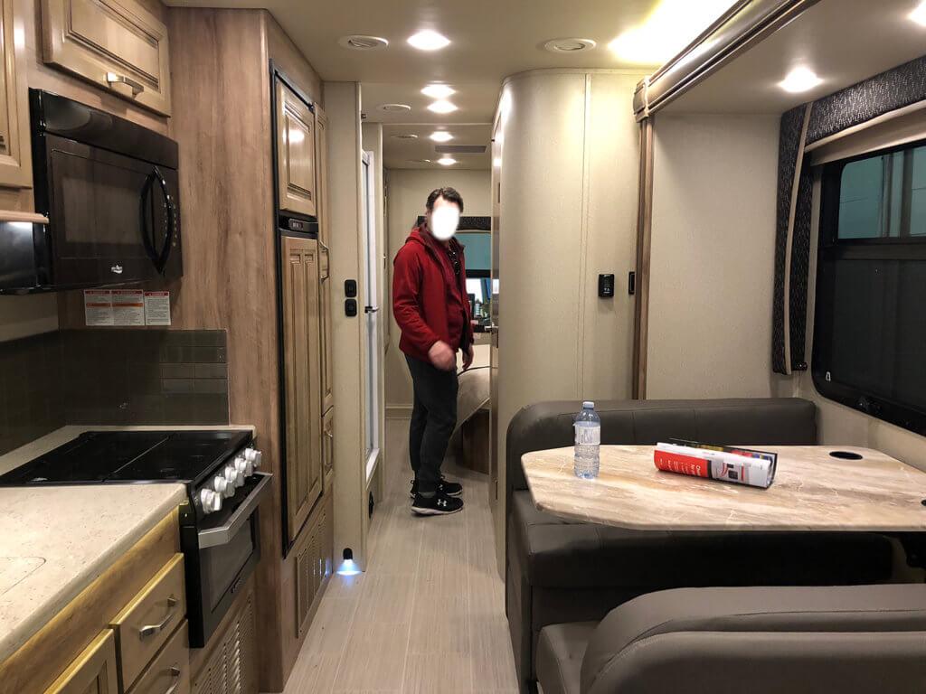 Jayco Greyhawk Prestige 29MVP interior