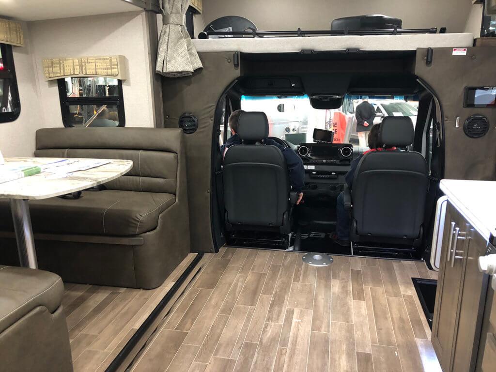Dynamax Isata 3 interior front